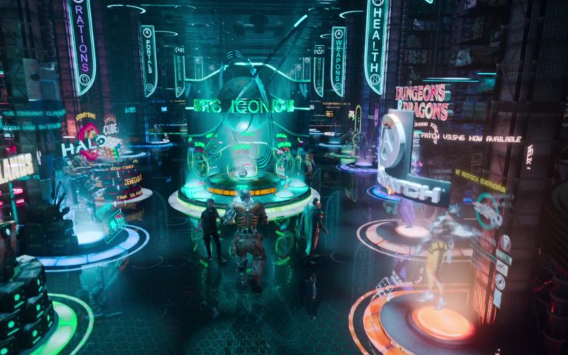 Borderlands, Halo, Dungeons & Dragons in Ready Player One (1)