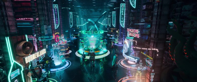 Borderlands, Halo, Dungeons & Dragons in Ready Player One (2018) Animation Movie Movie Product Placement