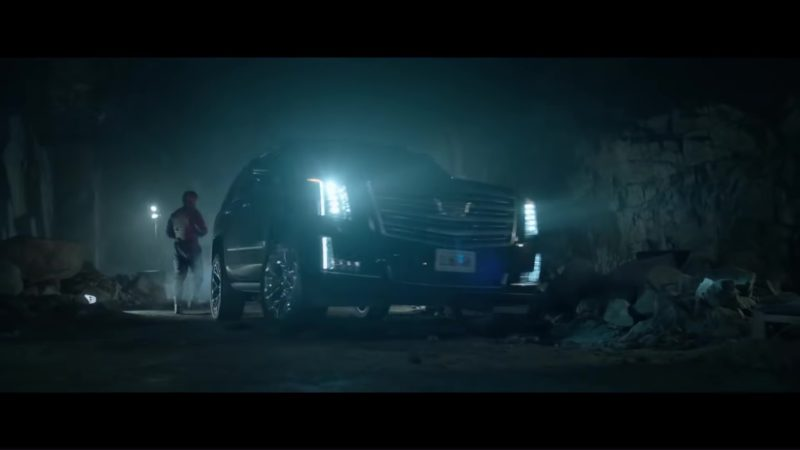 Cadillac Escalade SUV in The Predator (2018) Movie Product Placement