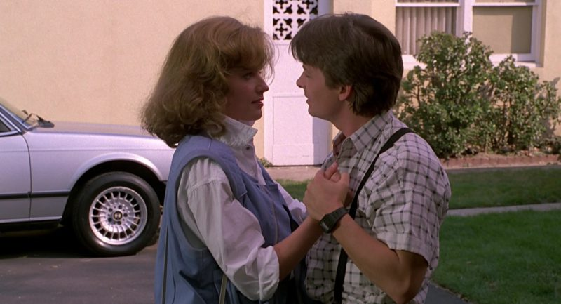 Casio Watch Used by Michael J. Fox (Marty McFly) in Back to the Future Part 2 (1989) - Movie Product Placement