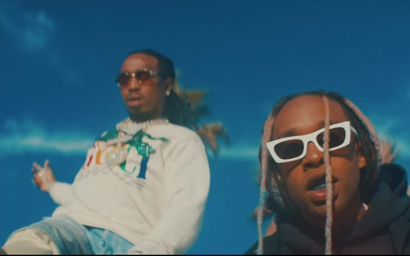Chanel Sneakers Worn by Quavo in Pineapple by Ty Dolla $ign feat. Gucci Mane (1)