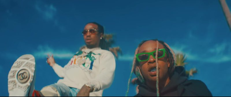 Chanel Sneakers Worn by Quavo in Pineapple by Ty Dolla $ign feat. Gucci Mane (2018) - Official Music Video Product Placement
