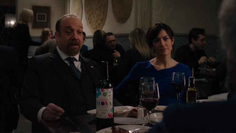 "Chateau Moya Wine in Billions: ""Icebreaker"" (2018) TV Show Product Placement"