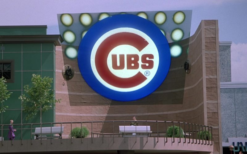 Chicago Cubs Baseball Team in Back to the Future Part 2