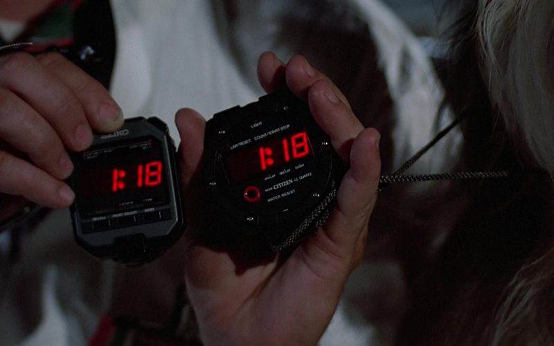 Citizen and Seiko Stopwatches Used by Christopher Lloyd (Dr. Emmett Brown) in Back to the Future (1)