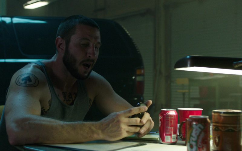 Coca-Cola and Crush Orange Cans in Den of Thieves (1)