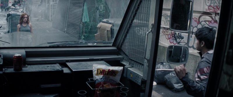 Coca-Cola and Doritos Chips in Ready Player One (2018) Movie Product Placement