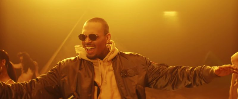 D&G Jacket Worn by Chris Brown in To My Bed (2018) Official Music Video Product Placement