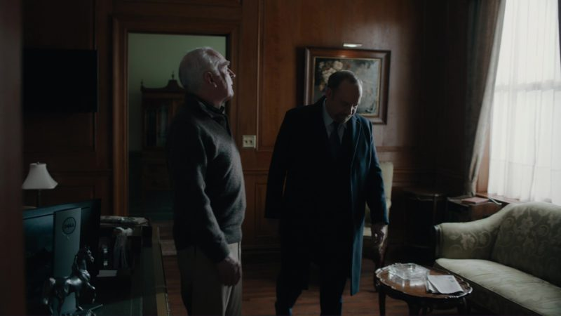 """Dell Monitor Used by Jeffrey DeMunn in Billions: """"Kompenso"""" (2018) - TV Show Product Placement"""