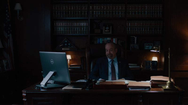 "Dell Computer Used by Paul Giamatti in Billions: ""Icebreaker"" (2018) - TV Show Product Placement"