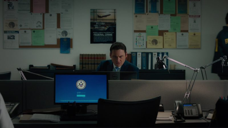 "Dell Monitor Used by Toby Leonard Moore (Bryan Connerty) in Billions: ""Elmsley Count"" (2018) TV Show Product Placement"