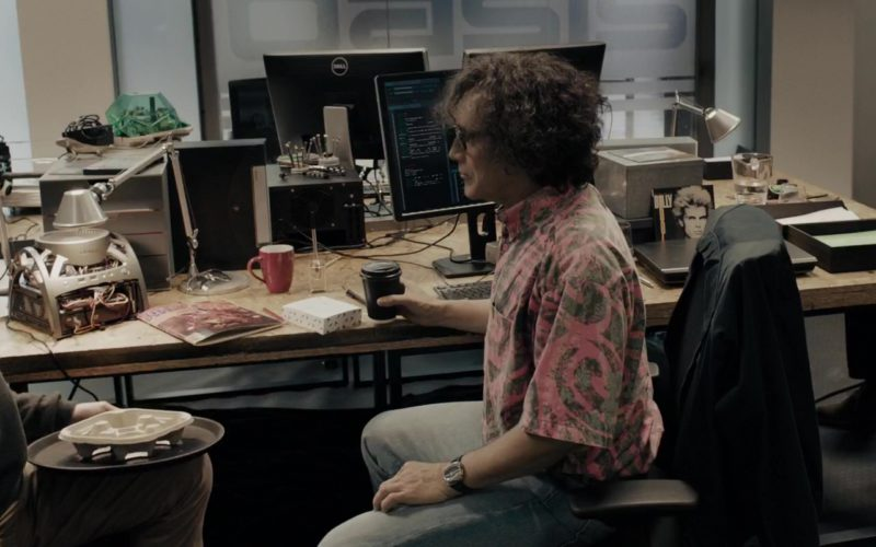 Dell Monitors Used by Mark Rylance (James Donovan Halliday) in Ready Player One (1)