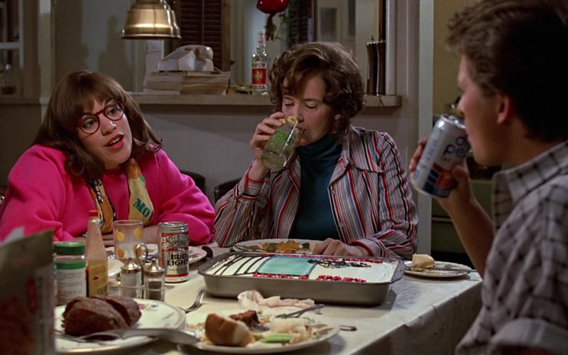 Diet Pepsi and Bud Light Cans in Back to the Future (1)