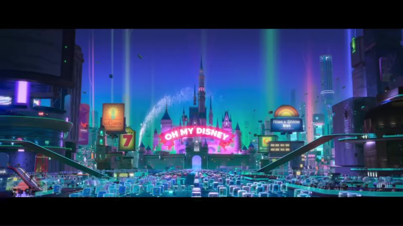 Disney in Ralph Breaks the Internet: Wreck-It Ralph 2 (2018) - Animation Movie Product Placement