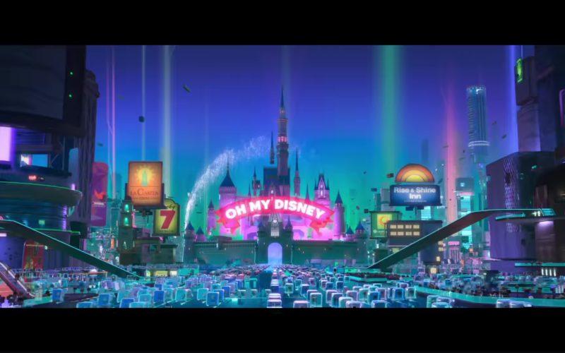Disney in Ralph Breaks the Internet Wreck-It Ralph 2