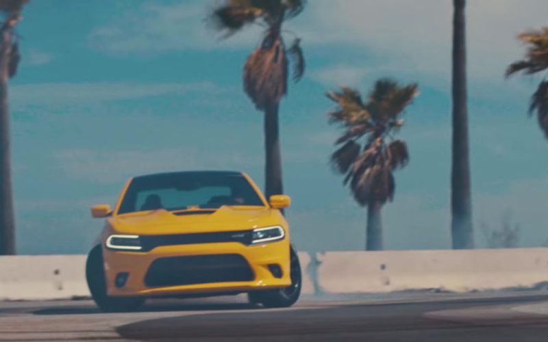 Dodge Charger Yellow Car in Pineapple (7)