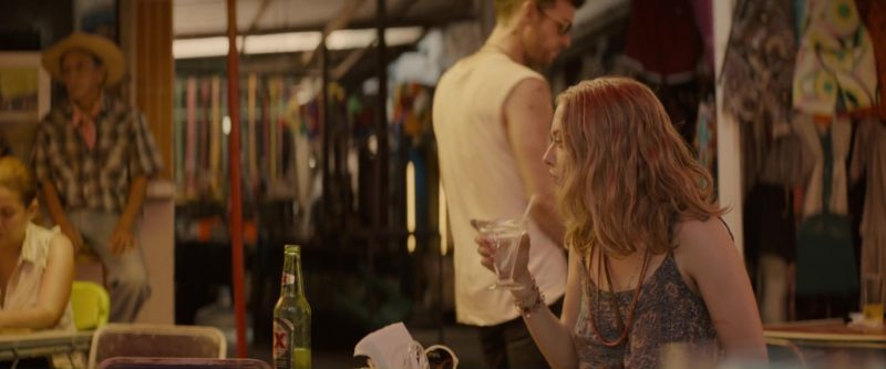 Dos XX (Equis) Beer in Gringo (2018) - Movie Product Placement