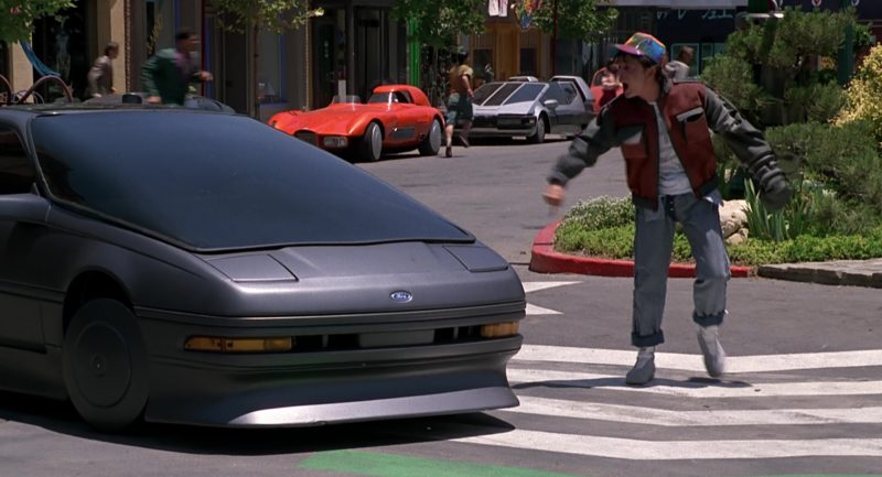 Ford Car in Back to the Future Part 2 (1989) Movie Product Placement