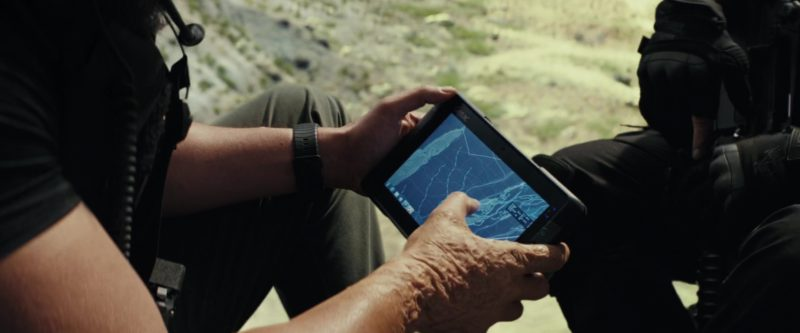 Getac Tablet in Rampage (2018) Movie Product Placement