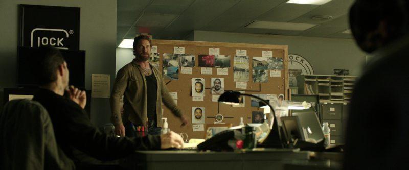 Glock Poster in Den of Thieves (2018) Movie