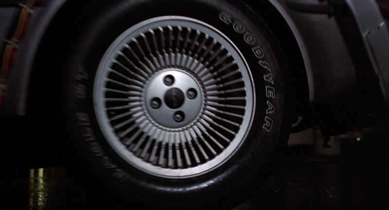 Goodyear Tires in Back to the Future (1985) Movie Product Placement