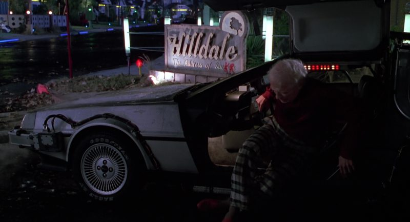 Goodyear Tires in Back to the Future Part 2 (1989) Movie Product Placement
