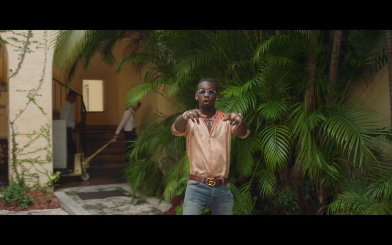 Gucci Belt in Narcos by Migos (1)
