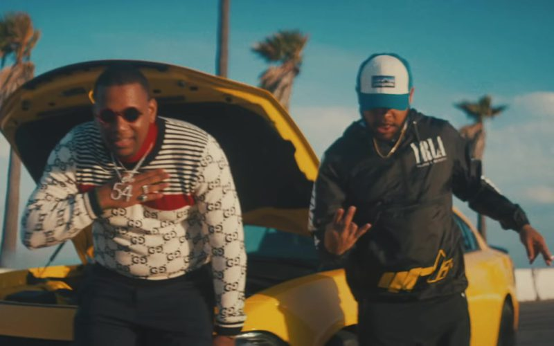 Gucci Sweater in Pineapple by Ty Dolla $ign (1)