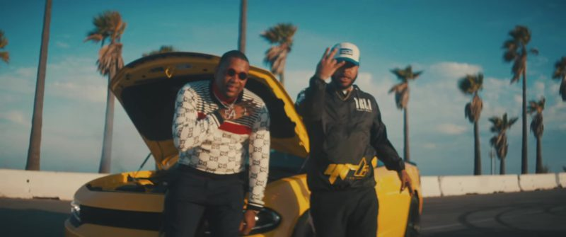 Gucci Sweater in Pineapple by Ty Dolla $ign feat. Gucci Mane & Quavo (2018) - Official Music Video Product Placement