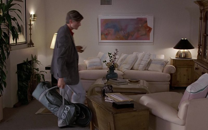 Head Tennis Bag and Racquets Used by Crispin Glover (George McFly) in Back to the Future (2)