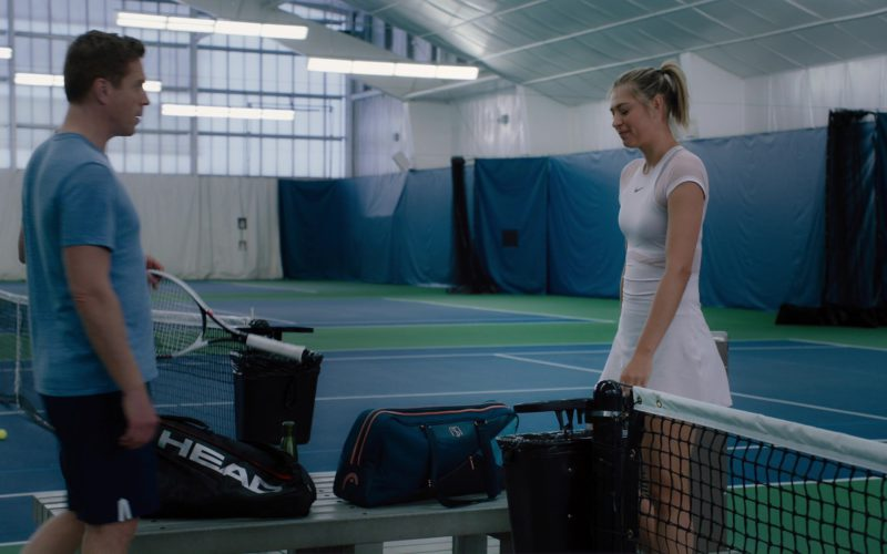 Head Tennis Racquet Used by Damian Lewis and Tennis Dress Worn by Maria Sharapova (1)