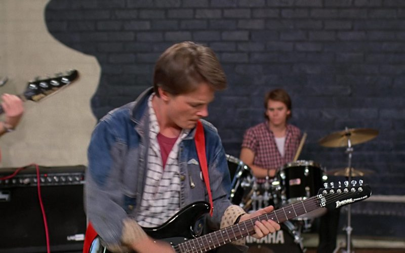 Ibanez Roadstar II RS440 Guitar Used by Michael J. Fox (Marty McFly) (1)