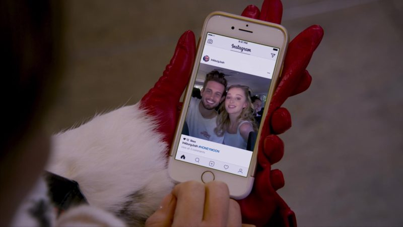 Instagram in Younger: Girl Code (2018) - TV Show Product Placement