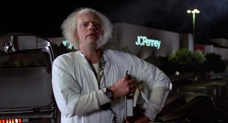 Jcpenney Store In Back To The Future 1985 Movie