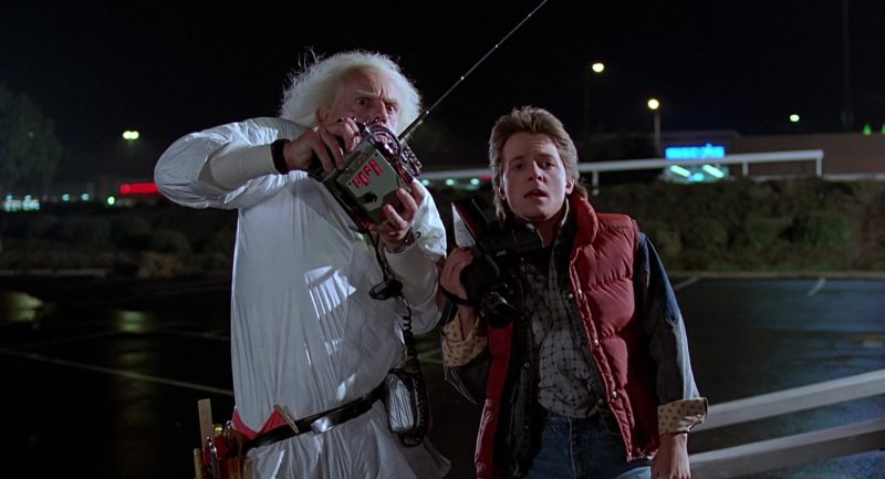JVC Camcorder Used by Michael J. Fox (Marty McFly) in Back to the Future (1985) Movie Product Placement