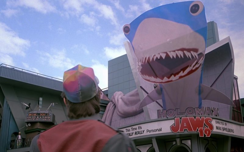 Jaws Film in Back to the Future Part 2 (1)