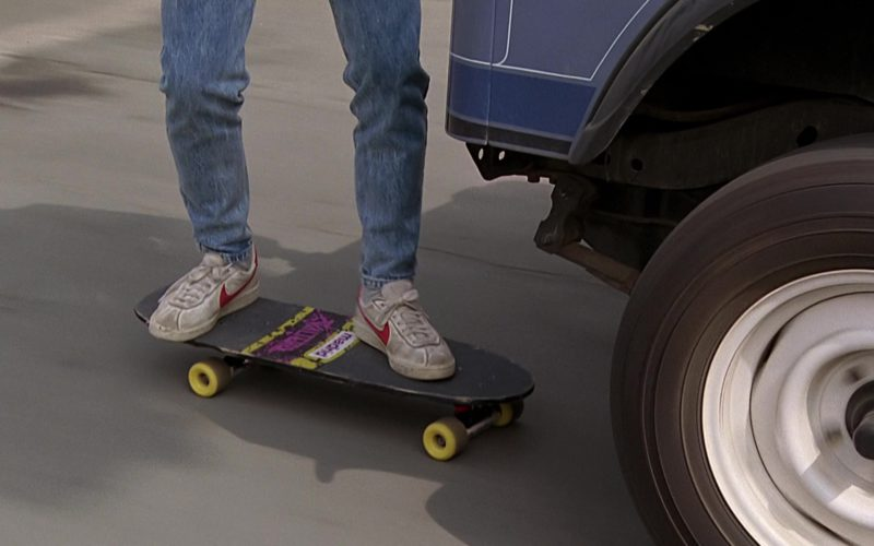 Madrid x Valterra Skateboard and Nike Shoes Worn by Michael J. Fox (1)