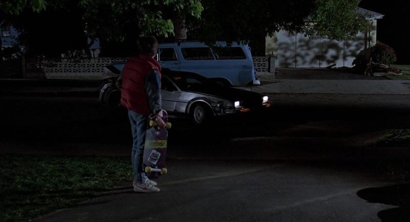 Skateboard Madrid x Valterra and Nike Shoes Worn by Michael J. Fox in Back to the Future (1985) - Movie Product Placement