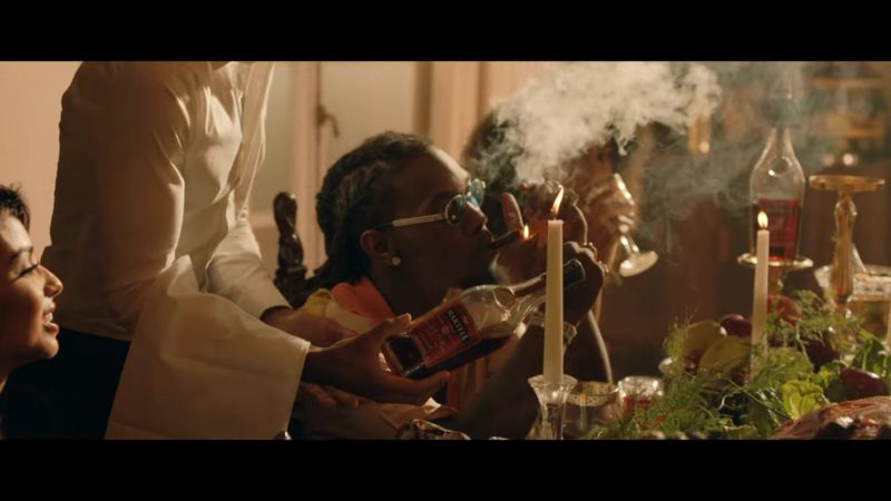 Martell Cognac in Narcos by Migos (2018) - Official Music Video Product Placement