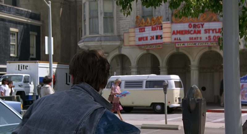 Miller Lite Beer Truck in Back to the Future (1985) Movie Product Placement