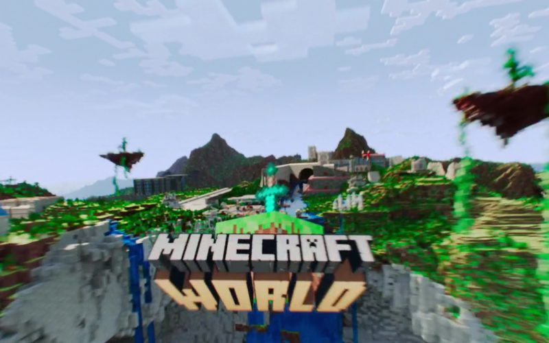 Minecraft World in Ready Player One (3)