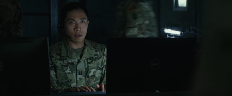 Monitors by Dell in Rampage (2018) - Movie Product Placement