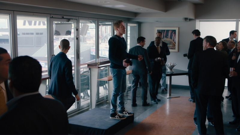 "NB Sneakers Worn by Damian Lewis in Billions: ""Elmsley Count"" (2018) TV Show Product Placement"