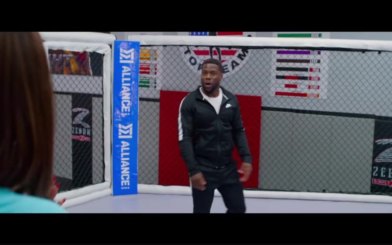 Nike Black Tracksuit Worn by Kevin Hart and Alliance MMA in Night School (1)