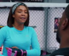 Nike Blue Long Sleeve Tee Worn by Tiffany Haddish and Alliance MMA in Night School (1)