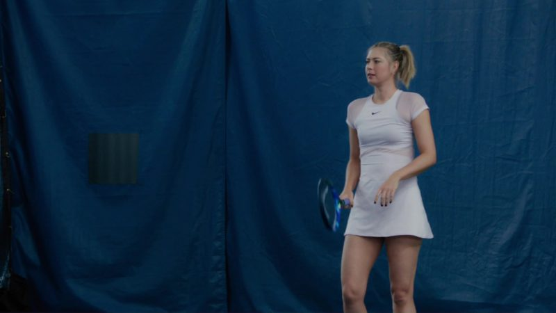 "Nike Dress And Head Tennis Racquet Used by Maria Sharapova in Billions: ""Redemption"" (2018) - TV Show Product Placement"