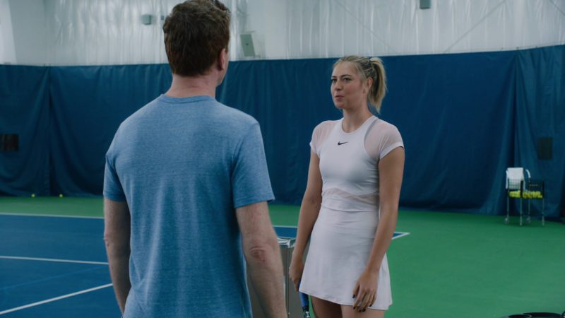 """Nike Dress Worn by Maria Sharapova in Billions: """"Redemption"""" (2018) - TV Show Product Placement"""