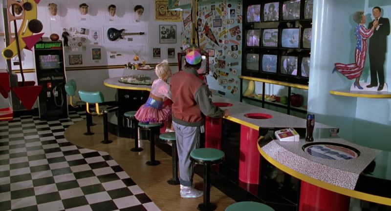 Nike Shoes Worn by Michael J. Fox and Pepsi in Back to the Future Part 2 (1989) - Movie Product Placement