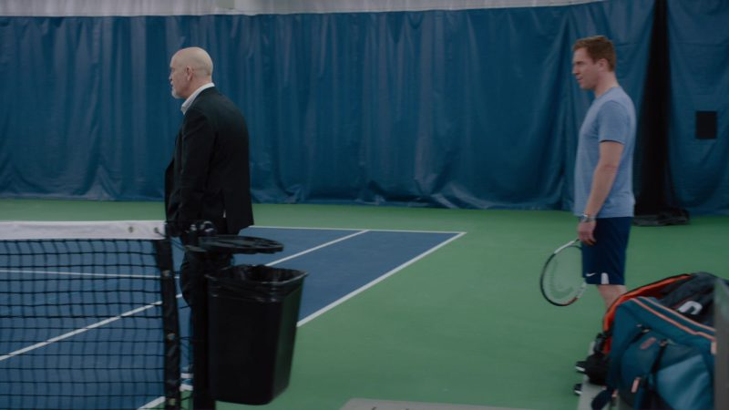 """Nike Shorts and Head Tennis Racquet Used by Damian Lewis in Billions: """"Redemption"""" (2018) TV Show Product Placement"""