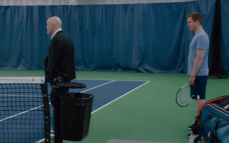 Nike Shorts and Head Tennis Racquet Used by Damian Lewis in Billions